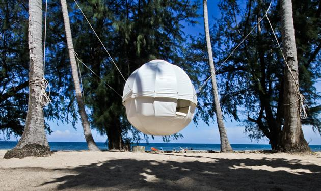 Cocoon Tent Tree House 4 This Luxurious Cocoon Tent Lets You Nest Among Trees in a Stunning Setting