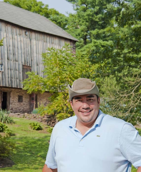 Chef Jose Garces at Luna Farm