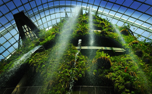 Gardens by the Bay Cloud Forest This Living Park May be Singapores Most Brilliant Eco Architectural Gem Yet