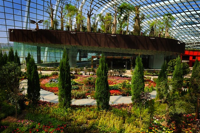 Gardens by the Bay Flower Dome This Living Park May be Singapores Most Brilliant Eco Architectural Gem Yet