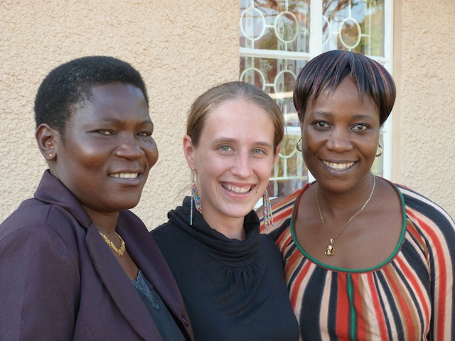RUMPS - (Left to Right) - Betty Adio, Stacey Frankenstein-Markon, and Deborah Nabirye