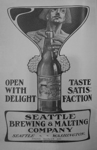 Rainier Beer Old Ad