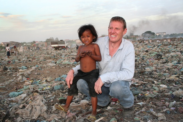 Scott at dump Through the Looking Glass: A Journey of Altruism in Phnom Penh