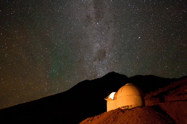 Elqui Demos Stars At This Hotel in Chile, Your Observatory Room is a Gateway to a Star Flooded Sky