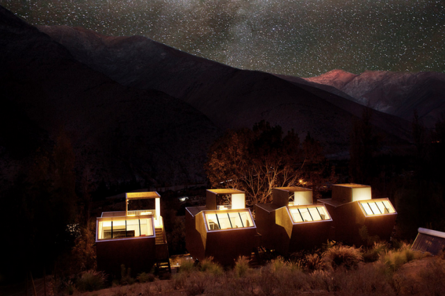 Elqui Domos Observatory Star Filled Sky e1365992256225 At This Hotel in Chile, Your Observatory Room is a Gateway to a Star Flooded Sky