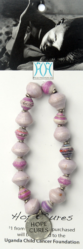 All Cancer Awareness bracelet