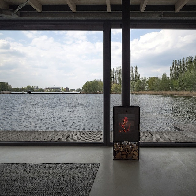 Berlins Coolest New Place to Stay: A Modern Houseboat with a View
