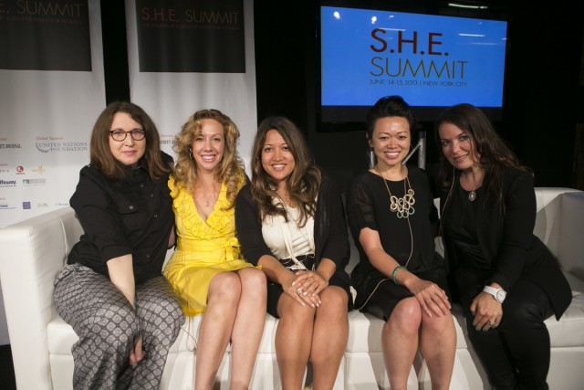 SHE Summit 6065 e1372125234522 The SHE Summit Offers Women Advice on How to Rule the World While Having Fun