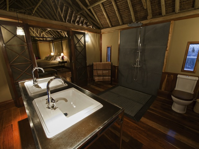 Segera Villa Bathroom - Photo by Mike Myers