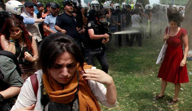 occupy gezi In Istanbul, Fighting to Prevent the Demolition of Something Bigger Than Gezi Park