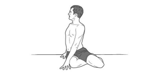 seated twist 300x162 Yoga for Long Travel