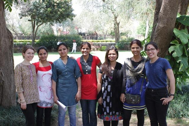 Tushita Foundation Volunteers Teachers
