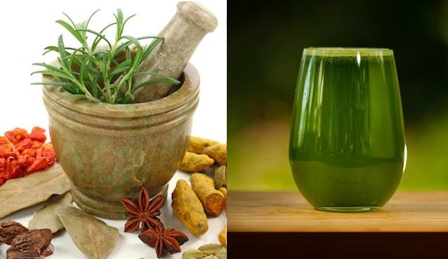Ayurvedic juices - supplements