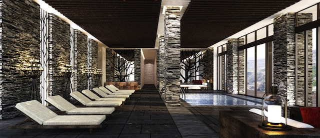 alilajabalakhdar indoor poolside An Unparalleled Stay Amidst Omans Al Hajar Mountains
