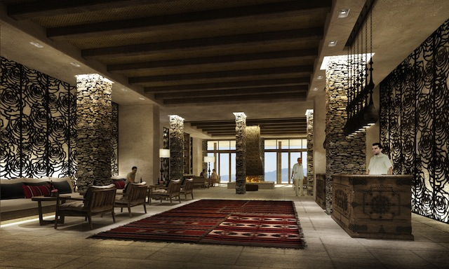 alilajabalakhdar lobby 1 An Unparalleled Stay Amidst Omans Al Hajar Mountains