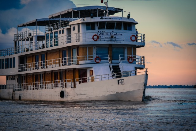queen violeta amazon riverboat e1377095984668 A Rare Journey Along the Amazon River