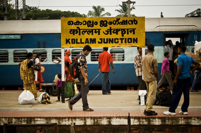 3TrainStation Cultures and Landscapes of Southern India, a Stunning Photo Essay