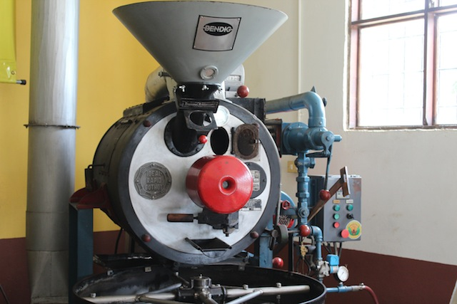 Coffee Roaster at Doka Coffee Estate